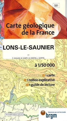 BRGM - Lons-le-Saunier - 1/50 000.