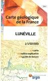 BRGM - Lunéville - 1/50 000.