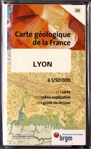 BRGM - Lyon - 1/50 000.