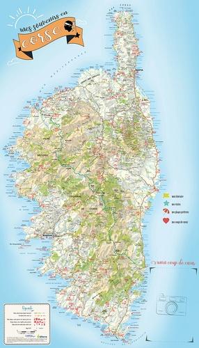 Ma carte de Corse à personnaliser