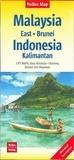 Nelles - Malaisie orientale Brunei - Indonésie Kalimatan - 1/1 500 000.