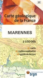 BRGM - Marennes - 1/50 000.