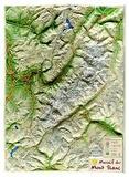 Reliefs Editions - Massif du Mont-Blanc.
