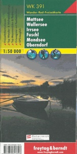 Freytag & Berndt - Mattsee, Wallersee, Irrsee, Fuschl, Mondsee, Oberndorf - 1/50 000.