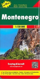 Freytag & Berndt - Montenegro - 1/150000.