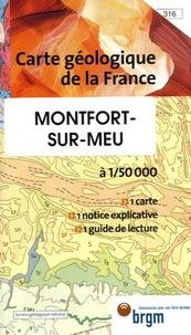 E Thomas et J-M Outin - Montfort-sur-Meu - 1/50 000.