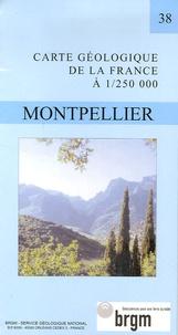 B Alabouvette et Michel Demange - Montpellier - 1/250 000.
