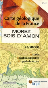 Service Géologique National - Morez-Bois d'Amon - 1/50 000.