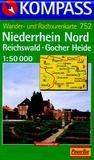 Kompass - Niederrhein Nord - Reichswald - Gocher Heide - 1/50 000.