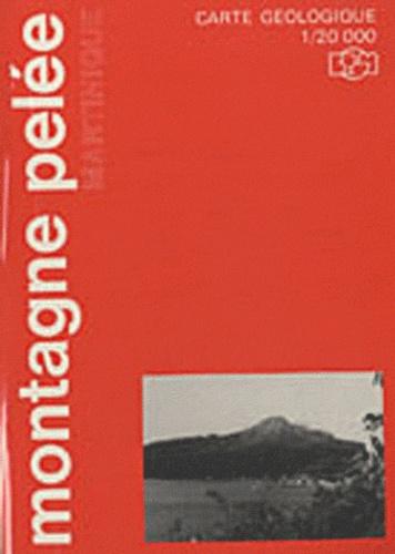 Denis Westercamp - Notice explicative simplifiée de la carte géologique de la Montagne Pelée (Martinique) - 1/20 000.
