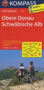 Kompass - Obere Donau Schwäbische Alb - Fahrradkarte.
