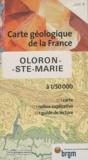 BRGM - Oloron-Ste-Marie - 1/50 000.