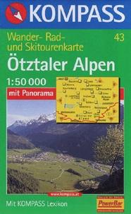 Kompass - Otztaler Alpen - 1:50 000.