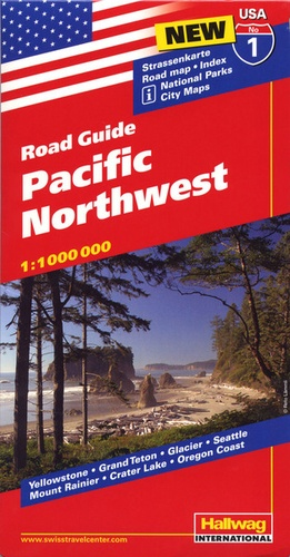 Hallwag International - Pacific North West - 1/1 000 000.