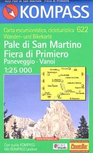 Kompass - Pale di Martino-Fiera di Primiero - 1/25 000.