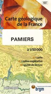 BRGM - Pamiers - 1/50 000.