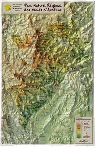 Reliefs Editions - Parc Naturel Régional des Monts d'Ardèche.
