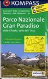 Kompass - Parco Nazionale Gran Paradiso - Valle d'Aosta, Valle dell'Orco 1/50 000.