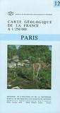 BRGM - Paris - 1/250 000.