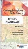 J-P Capdeville - Penne d'Agenais - 1/50000.
