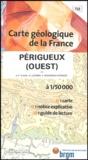 Jean-Pierre Platel et G Célerier - Périgueux (ouest) - 1/50 000.