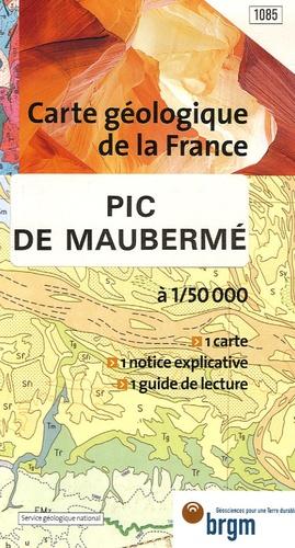 Service Géologique National - Pic de Maubermé - 1/50 000.