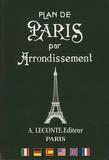 Editions Leconte - Plan de Paris par arrondissement.