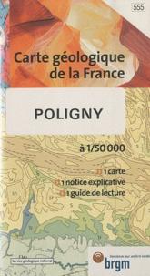 Yves Kerrien - Poligny - 1/50 000.