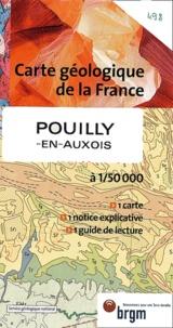 BRGM - Pouilly en Auxois - 1/50000.