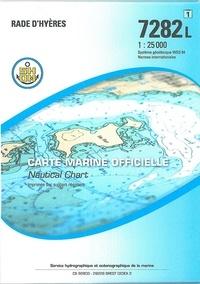 SHOM - Rade d'Hyères - 1/25 000.