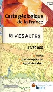 G-M Berger et M Fonteilles - Rivesaltes - 1/50 000.