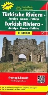 Freytag & Berndt - Riviera turque - 1/150 000.