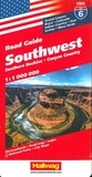 Hallwag International - Road Guide Southwest - 1/1 000 000.