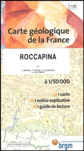 J Marre et P Rossi - Roccapina - 1/50 000.