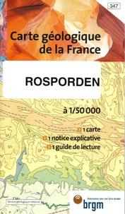 François Bechennec et B Hallégouêt - Rosporden - 1/50 000.