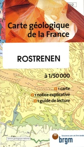 P Bos et C Castaing - Rostrenen - 1/50 000.