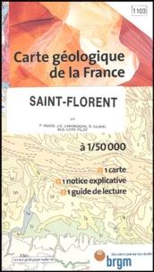 P Rossi et J-C Lahondère - Saint-Florent - 1/50 000.