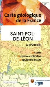 Louis Chauris et E Marcoux - Saint-Pol-de-Léon - 1/50 000.