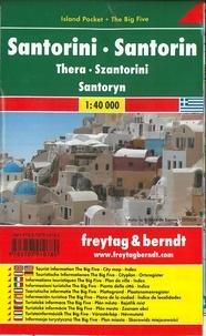 Freytag & Berndt - Santorini - Thera - 1/40 000.