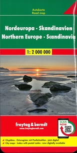Freytag & Berndt - Scandinavie - Europe du Nord. 1/2 000 000.