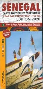 Editions Laure Kane - Sénégal - 1/750 000.