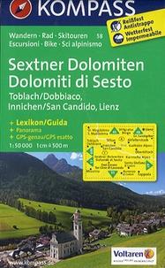 Kompass - Sextner Dolomiten ; Dolomiti di Sesto - 1/50 000.