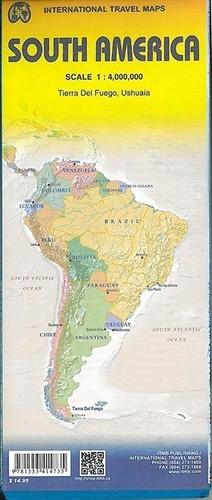 ITMB - South America - Tierra Del Fuego, Ushuaia - 1/1 400 000.