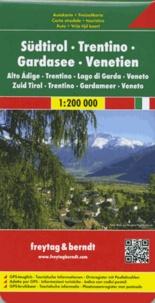 Freytag & Berndt - South Tirol, Trentino, Lake Garda, Venezia - 1/200 000.