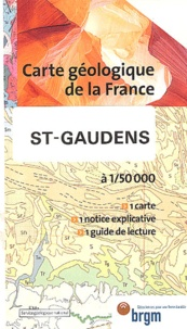 Service Géologique National - St-Gaudens - 1/50 000.