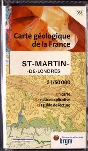 BRGM - St-Martin-de-Londres - 1/50 000.
