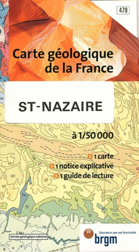 BRGM - St-Nazaire - 1/50 000.