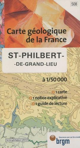 BRGM - St-Philbert-de-Grand-Lieu - 1/50 000.