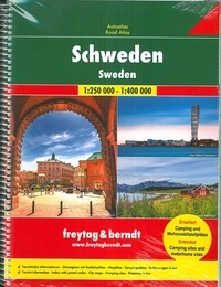 Freytag & Berndt - Suède - 1/250 000 ; 1/400 000.