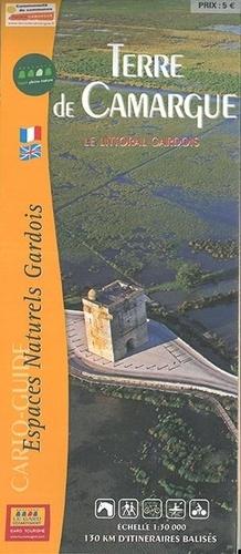 Terre de Camargue : le littoral gardois. 1/30 000